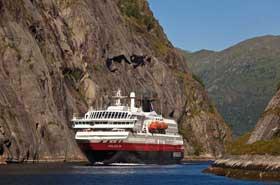 Hurtigruten Show von Michael Fleck